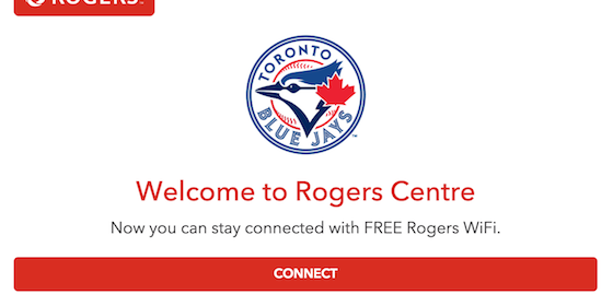 Rogers Centre WiFi